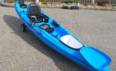 Second Hand Revolution 13 Fishing Kayak
