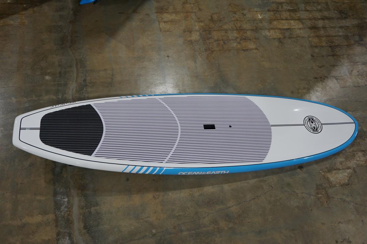 "Ocean and Earth 10'6"" Cruiser Epoxy SUP Top View"