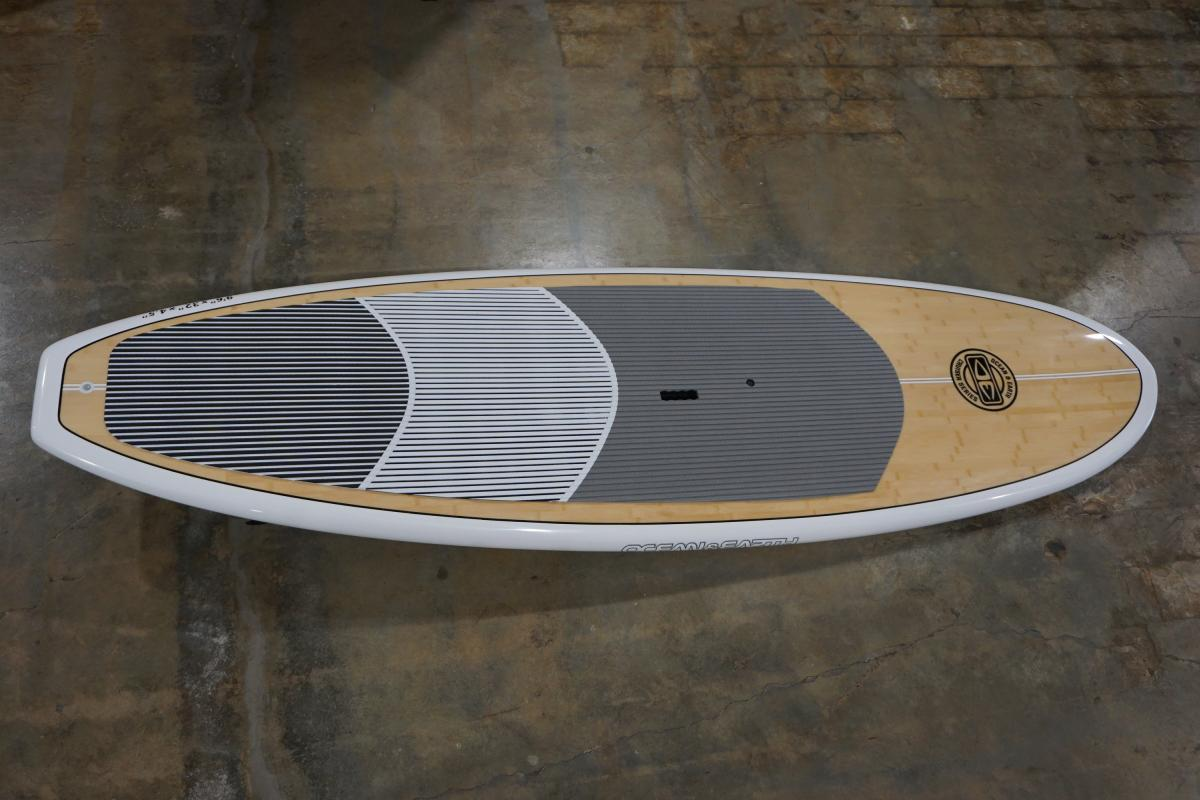 Ocean and Earth 9.6 Epoxy SUP Top View
